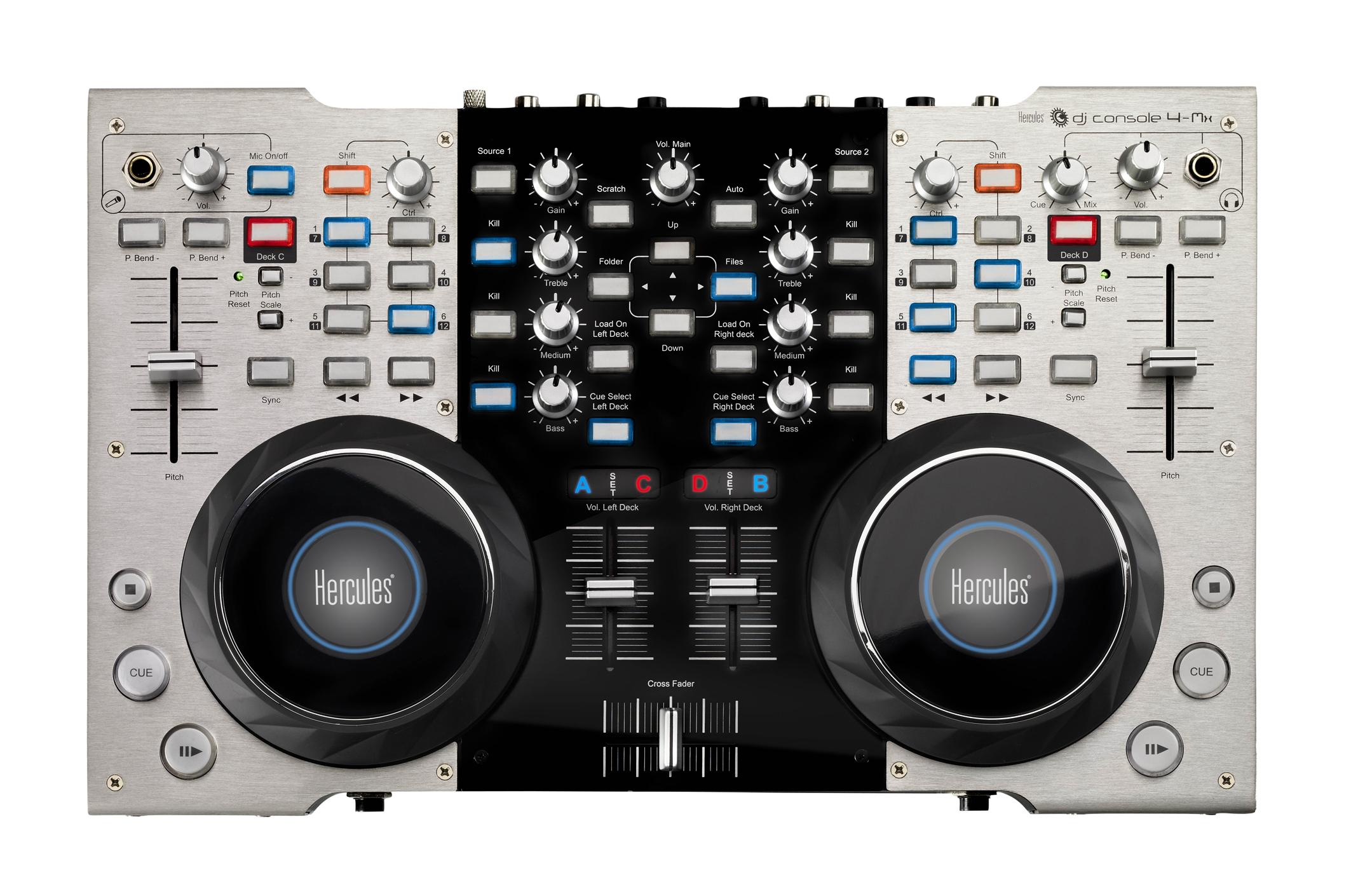 HERCULES DJ 4MX UPDATE